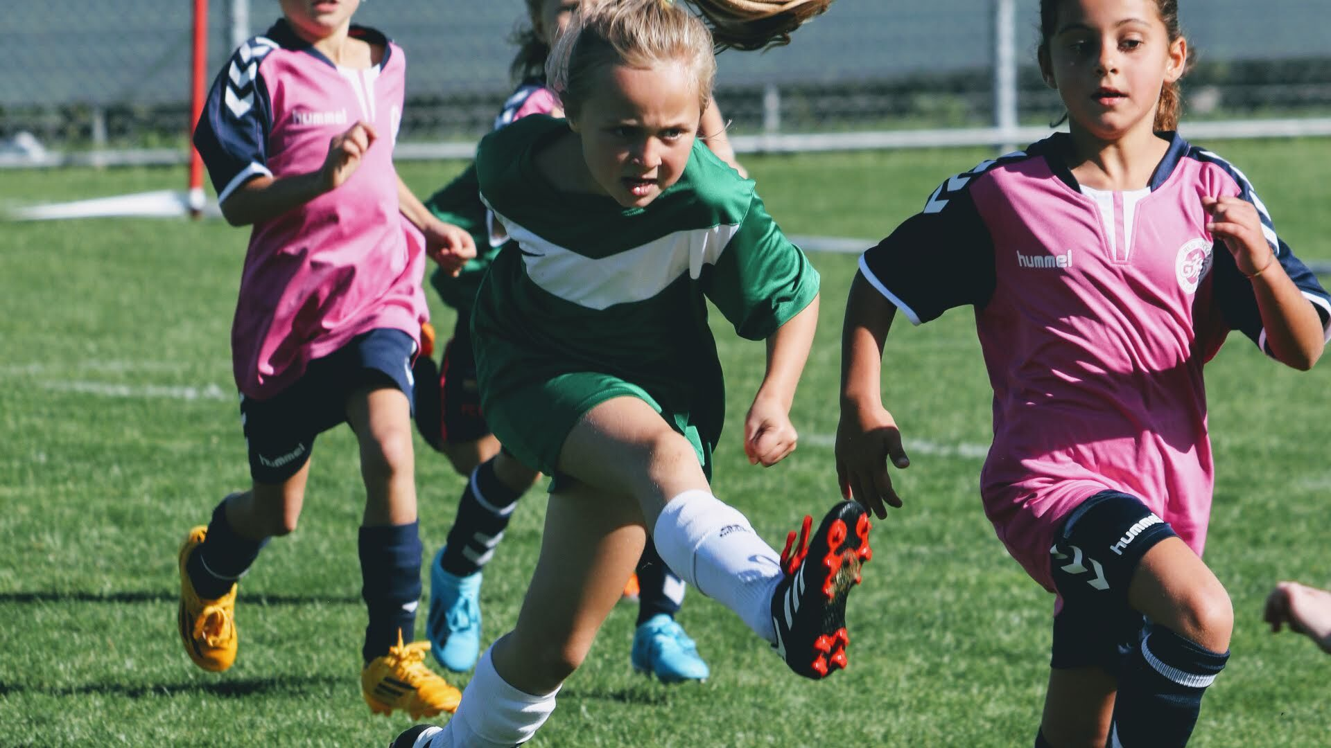 Girls Soccer School
